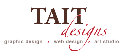 TAIT designs: graphic design, web design, art studio