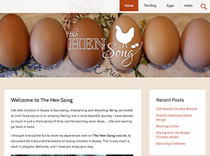 The Hen Song Website